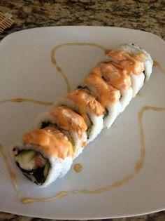Baked Salmon Roll With A Sweet Ponzu Sauce Recipe - Genius Kitchensparklesparkle Salmon Roll, Baked Salmon, Salmon Sushi, Ponzu Sauce Recipe, Sauce Recipes, Sushi Recipes, Whole Food Recipes, Seafood Recipes, My Sushi