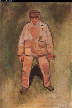 Edvard Munch Fisherman