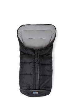 #bebe Altabebe AL2203-12 – Saco de abrigo para silla de paseo, color negro/gris