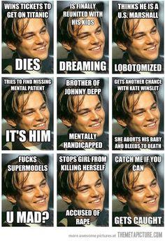 funny Leonardo Dicaprio meme on imgfave