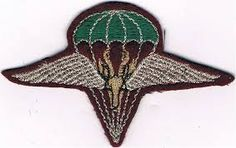 "1st Parachute Bn""Parabat"" beret badge."