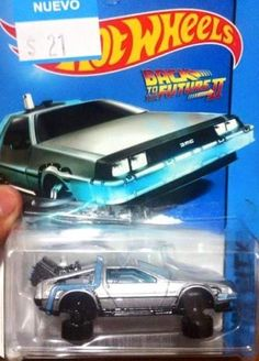 Hot Wheels Back to the Future II Delorean - Brought to you by Smart-e Truck Wheels, Hot Wheels Cars, Custom Hot Wheels, Custom Cars, Carros Hot Wheels, Pt Cruiser, Matchbox Cars, Small Cars, Back To The Future