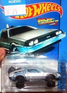 Hot Wheels Back to the Future II  Delorean