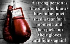 See more quotes about A Strong person is one who knows how to be quiet