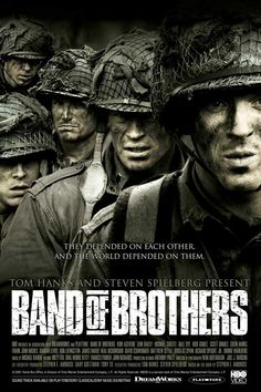 Band of Brothers-This mini-series means a whole lot more to me after visiting some Battle of the Bulge battefield sites in Europe.