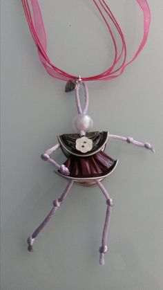 by RobeDiRoby.it Nespresso, Washer Necklace, Necklaces, Crafts, Jewelry, Espresso, Ladies Day, How To Make, Hipster Stuff