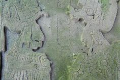 Intricate Stela carving