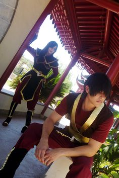 Zuko and Azula. Zuko is my favorite character because he learns what the right path in life ever if it means hurting his own family.