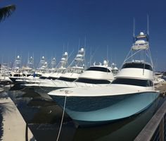 Viking Yachts at the Palm Beach International Boat Show 2015 Deep Sea Fishing Boats, Sport Fishing Boats, Yacht Boat, Boat Dock, Yacht Club, Viking Yachts, Small Yachts, Offshore Boats, Float Your Boat