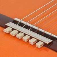 guitar secret, tie beads make the guitar louder! (downward pressure on bridge) Blemished Sale Item String-Tie Beads for Classical or Flamenco Guitar, Bone
