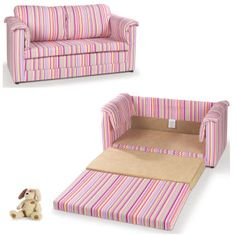 Striped Sofa Bed