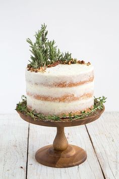 The Little Epicurean Rosemary Lemon Cake-The Little Epicurean