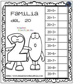Aprendemos la familia de los números (2) - Imagenes Educativas