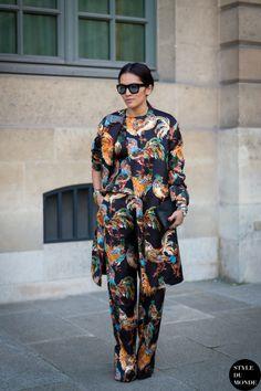 Tina Leung Street Style Street Fashion by STYLEDUMONDE Street Style Fashion Blog