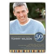 50th Birthday Invitations For Men   PaperStyle has Customized 50th Birthday Party Invitations