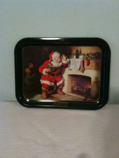 Vintage Coca Cola Christmas tray by GransOldStuff on Etsy, $20.00