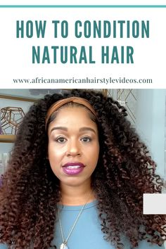 You cannot turn a rinse out conditioner into a deep conditioner because you let it stay on your hair longer. These are some of the gem you'll get by watching this video Natural Hair Growth, Natural Hair Styles, Long Hair Styles, Deep Conditioner, African American Hairstyles, Hair Videos, Cleanse, Your Hair, Gem