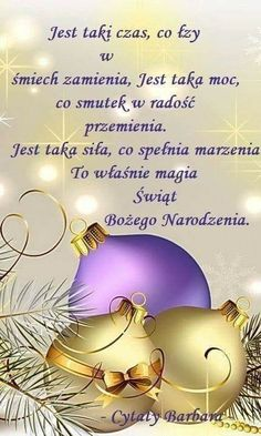 Xmas Wishes, Motto, Merry Christmas, Wisdom, Words, Polish, Amor, Polish Sayings, Old Pictures