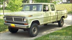 1970 Ford 4x4 Crew Cab Maintenance/restoration of old/vintage vehicles: the material for new cogs/casters/gears/pads could be cast polyamide which I (Cast polyamide) can produce. My contact: tatjana.alic@windowslive.com