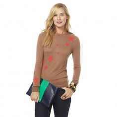 Cute star sweater.  I especially like the star detail on the back.