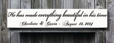 He has made everything beautiful in his by doudouswooddesign, $32.00