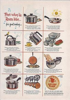 1000 Images About Revere Ware On Pinterest Ware