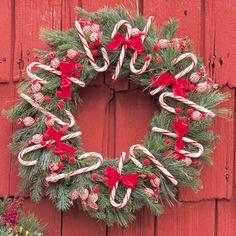 Homemade holiday wreaths
