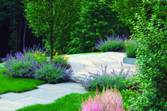 Our designers create beautiful solutions using a good eye and horticultural expertise. Call Hoffman Landscapes today. #landscaping