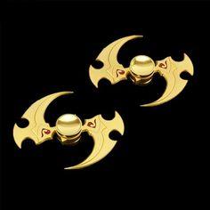 Fidget Spinner - Gold Genji Ninja Darts