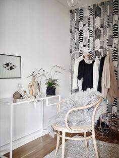 Ikea 'Vittsjö' desk as vanity table