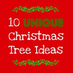 Never have a boring tree again! Blogger has awesome tree decorating themes and ideas that will give you inspiration for years to come!