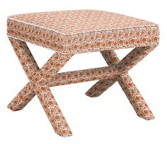 Tolstoy Ottoman in Solid Florals, featured on Guildery