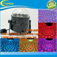 mini 3w full colour RGB LED Stage LightProjector DJ dance Disco ball bar home Party Xmas effect Stage Light  EUR 8.99  Meer informatie  http://ift.tt/29gitmn #aliexpress