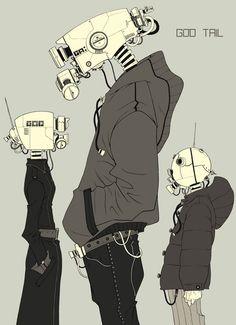 Forum Cyberpunk / Forum Cyberpunk - Images aléatoires CyberPunk et chat IRC - Galerie . - Forum Cyberpunk / Forum Cyberpunk – Images aléatoires CyberPunk et chat IRC – Galerie - Arte Robot, Robot Art, Character Concept, Character Art, Concept Art, Fantasy Girl, Animation, Images Aléatoires, Science Fiction