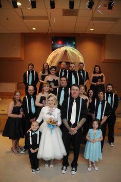 50's theme wedding
