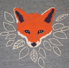 out with owls in with foxes - I bought a sweater last night with a fox on it like this :)