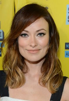 Olivia Wilde: Olivia can't make her mind up — blond or brunette, long or short? How about somewhere in the middle?