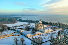 Lithuania (2475): 'Monastery in remote area of Lithuania'