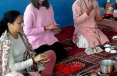 Photos: Anushka Sharma ends the year on pious note performs puja at Dehradun