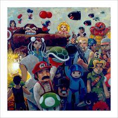 NEStalgia Ltd Ed Print now featured on Fab.