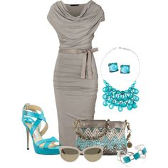 Buddha Bag. Love the color pop. Gray and turquoise very nice combo