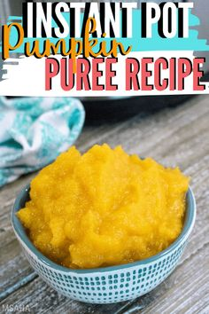 Learn how to make a fast and easy Instant Pot Pumpkin Recipe using a pie pumpkin and how to freeze pumpkin puree the right way. Pumpkin Puree Recipes, Pureed Food Recipes, Instant Pot, Frozen Pumpkin, Cooking Pumpkin, Lunches And Dinners, Recipe Using, Cooker, Good Food