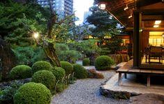 maison jardin zen exotique