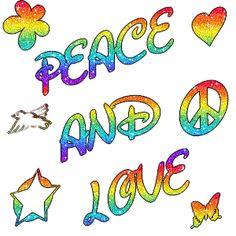 Peace and Love | image peace and love animé