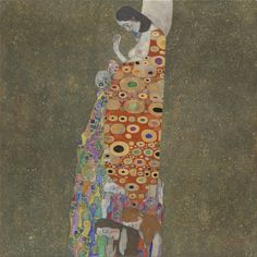 Gustav Klimt, SPERANZA II, 1908, 1,10 m x 1,10 m, Colore ad olio, MoMA