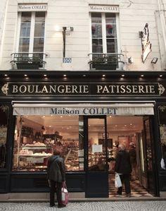 boulangerie in rue mouffetard in paris, vickiarcher.com