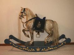 He makes rocking horses and can no doubt help you out with your requirements if you are interested in having one custom ...