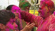 Top travel ideas including painting the town multi-coloured.
