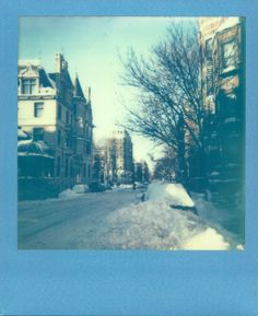 Newbury Street on Impossible Project Film