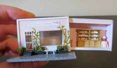 Dollhouse Miniatures OOAK Setting 1 144 Scale in Matchbox Signed Room Box | eBay